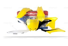 Polisport Suzuki RMZ450 2008-2015 Complete Plastic Kit 2009-12 OEM Colour