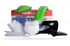 Polisport 2001-2013 Kawasaki KX85 Complete Plastic Kit 2010 Colour