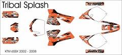 KTM 65 SX/XC 2002-2008 Tribal Splash Grafix