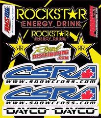 CSRA Sticker Sheet