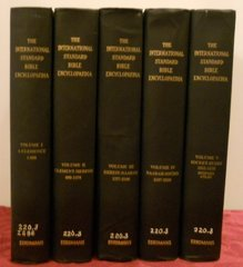 International Standard Bible Encyclopedia 1939 set