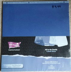 Core'dinations All in the Family Cobalt Blues ColorCore Cardstock