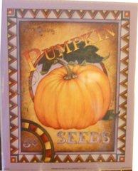 Art Print by Lillian Pumpkin Seeds