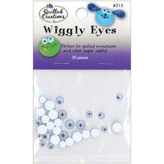 Wiggly Eyes 30/Pkg