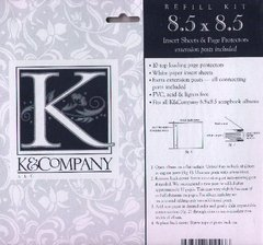 K & Co Refill Kit 8.5 x 8.5