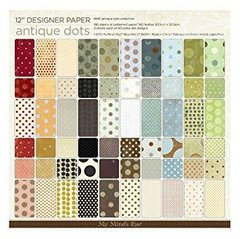 MME Antique Dots Collection Paper Pad