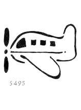 Lasting Impressions S495 - Airplane