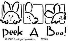 Lasting Impressions L9275 - PEEK A BOO