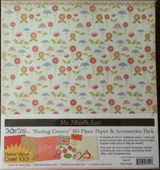 Penny Lane Feeling Groovy My Mind's Eye Paper & Accessories Pack