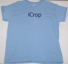 iCrop XL Blue T-shirt
