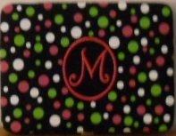 "M Embroidered Initial 4"" x 6"" Photo Album"