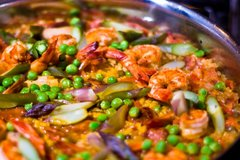 An evening in Madrid Paella Private Class for 2