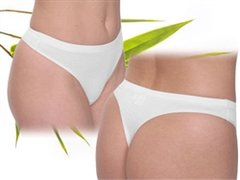 Women' bamboo thong underwear