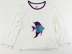 girls long sleeve fish t