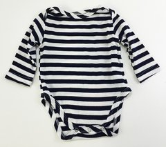 baby onesie long sleeve sailor stripes