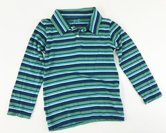 boys long sleeve stripes polo