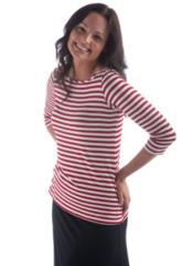 women's bamboo 3/4 sleeve top by Yala