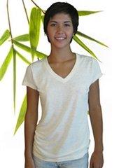 Women's bamboo/hemp Vneck