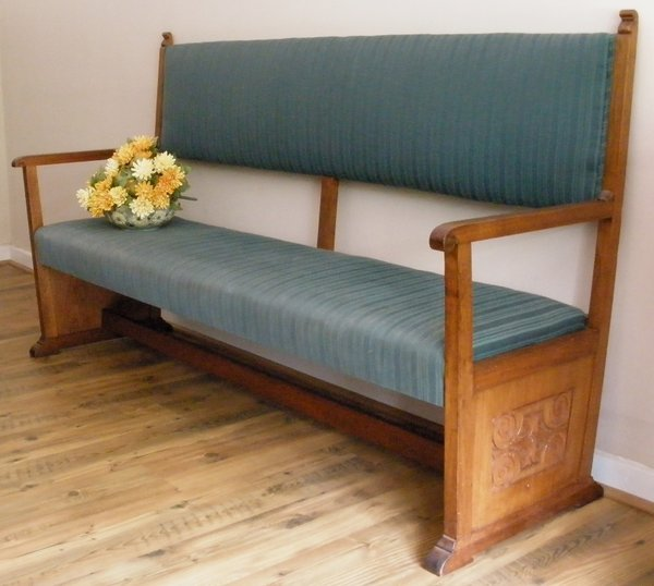 a on chairs pews corner make benches repurpose kitchen best church pew images do bench pinterest settle