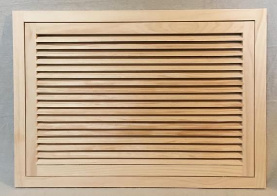30x20 Wood Return Air Filter Grille Woodairgrille Com