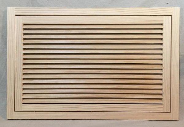 27x19 Wood Return Air Filter Grille Woodairgrille Com