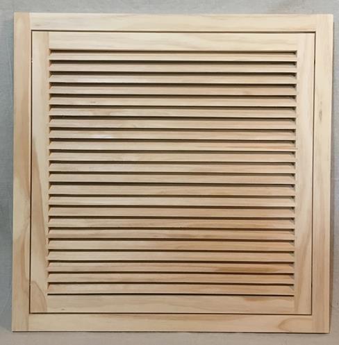 24x24 Wood Return Air Filter Grille Woodairgrille Com