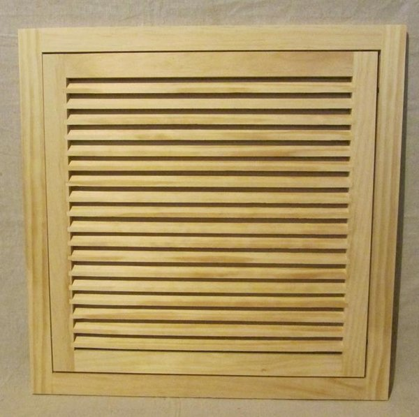 20x20 Wood Return Air Filter Grille Woodairgrille Com
