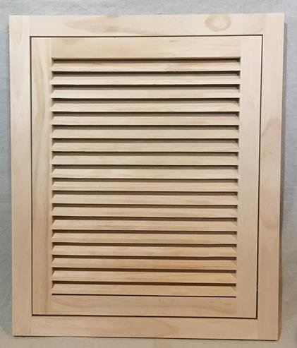18x20 Wood Return Air Filter Grille Woodairgrille Com