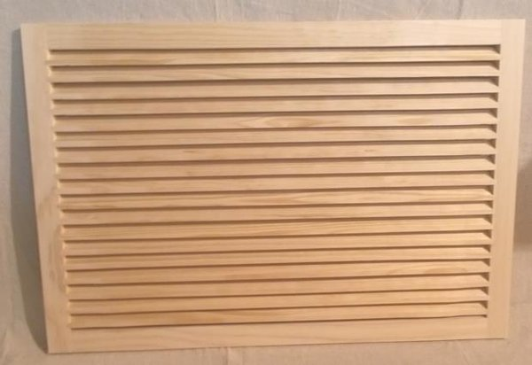 Wood Return Air Grille : Wood return air grille panel only woodairgrille