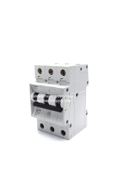 Siemens 5sx23 C40 Triple Pole Mcb Type C 40amp Circuit