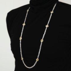 Lara Heems Aluminating necklace / Yellow