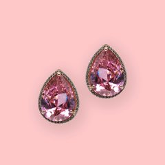 Lara Heems Audrey Pink clip on Earrings