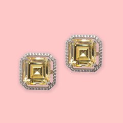 Belle Studs Yellow