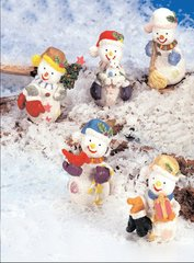 Mini Snowman (12 PCS SET)