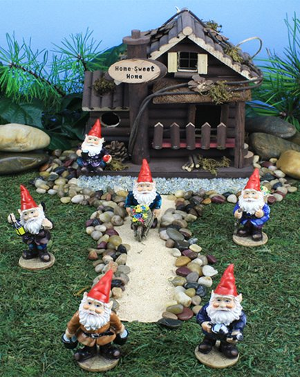 Mini Gnomes (12 PC SET)