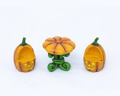 Pumpkin Table with Chairs Combo (12 PCS SET)