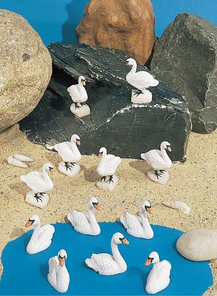 Mini Swans (12 PC SET)
