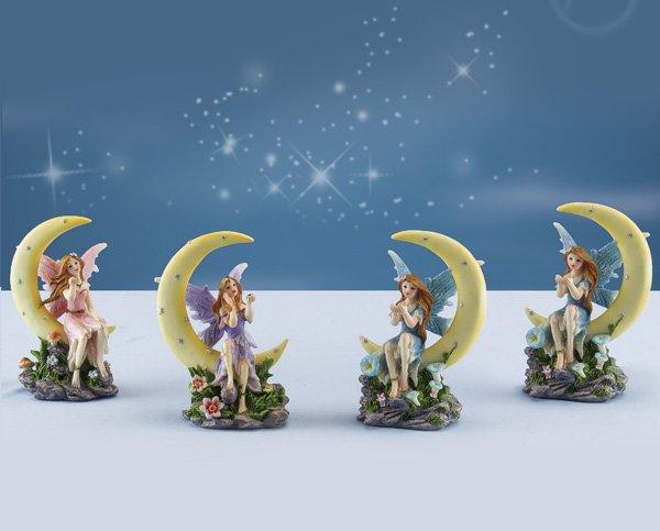 Fairy Sitting on Moon (6 PCS SET)