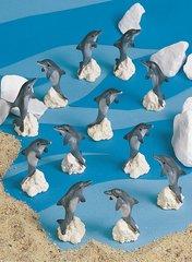 Mini Dolphins (12 PC SET)