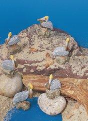 Mini Pelicans (12 PC SET)