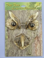 Owl Tree Face (4 PC SET)