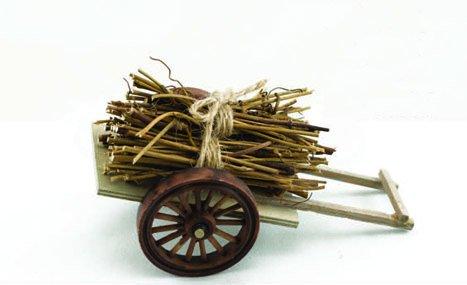 "Cart w/Hay 6"" (12 PCS SET)"