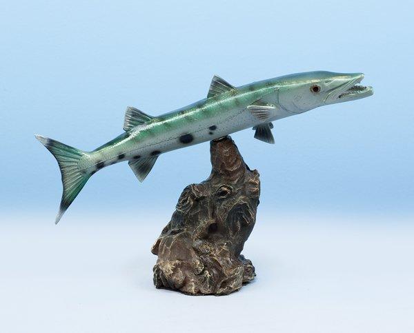 """Barracuda 13"""" Statue"""