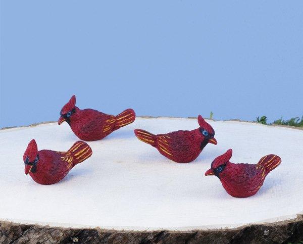 Mini Red Cardinal (12 PCS SET)