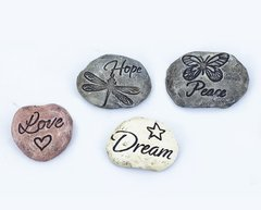 Mini Garden Stones (12 PCS SET)