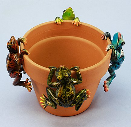 Md Multicolor Frog (12 PC SET)