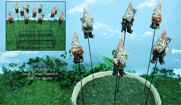 Small Gnome Plantsticks (24 PC SET)
