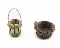 Wooden Bucket (12 PCS SET)