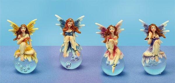 Fairy on Gazing Ball (12 PCS SET)