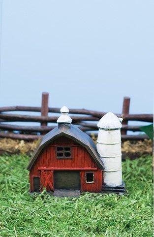 Sm Fairy Barn with LED Light (6 PCS SET)